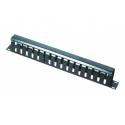 Gembird 19' cable management system 1U