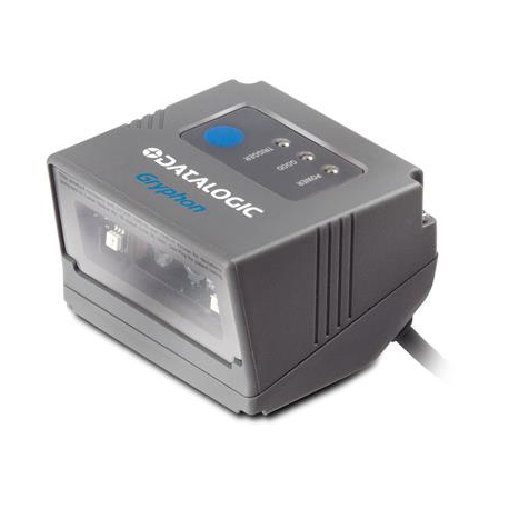 GRYPHON GFS4400 FIXED SCANNER, 2D, USB