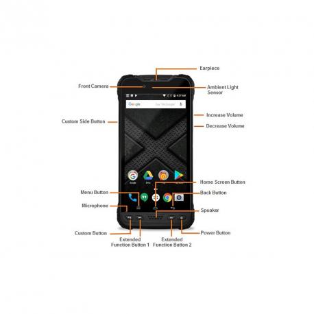 M60 WWAN F-/R-CAM 32/4GB A8.0 NFC