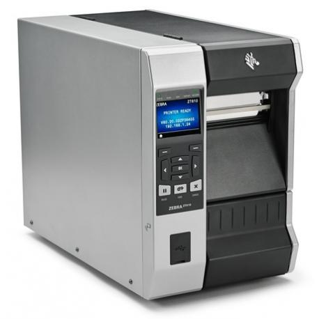 Zebra ZT421, 8 dots/mm (203 dpi), cutter, disp. (colour), RTC, EPL, ZPL, ZPLII, USB, RS232, BT, Ethernet