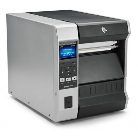 Zebra ZT620, 8 dots/mm (203 dpi), disp. (colour), ZPL, ZPLII, USB, RS232, BT, Ethernet