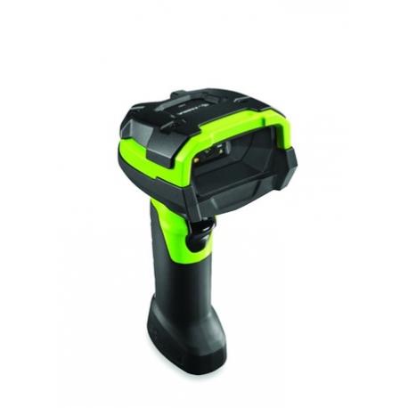Zebra LI3608-ER, 1D, ER, multi-IF, kit (USB), black, green