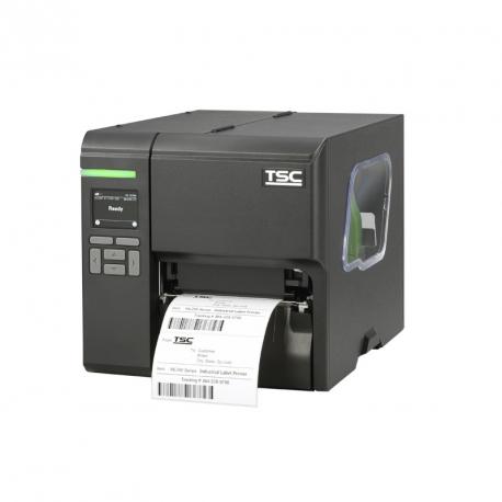 TSC ML240P Wi-Fi ready, 8 dots/mm (203 dpi), disp. (colour), RTC, USB, RS232, Ethernet