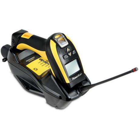 Datalogic PM9100, 1D, multi-IF, disp., RB, black, yellow