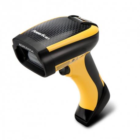 Datalogic PM9100, 1D, multi-IF, kit (USB), RB, black, yellow