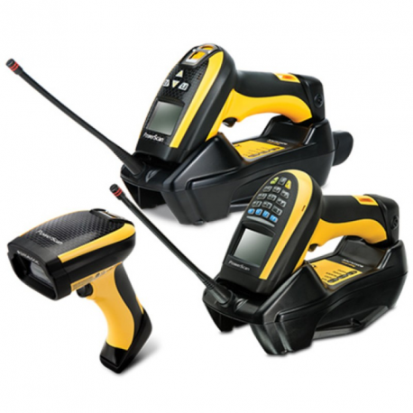 PD9130-K2, 1D, multi-IF, kit (RS232, coiled), black, yellow