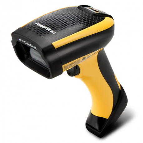 PD9130, 1D, multi-IF, kit (USB, coiled), black, yellow