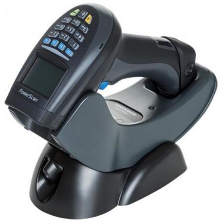 PowerScan Retail PM9500, 433MHz, USB Kit, White, Fixed Batt (Kit inc. PM9500-WH-433-RT, BC9030-WH-433-BP, 8-0935 AND CAB-438.)