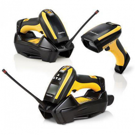PowerScan PM9300, 433MHz, Laser Scanner, Auto Range, Display/16-Key, Removable Battery
