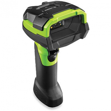 Zebra DS3608: RUGGED; AREA IMAGER; HIGH DENSITY; CORDED; INDUSTRIAL GREEN; VIBRATION MOTOR