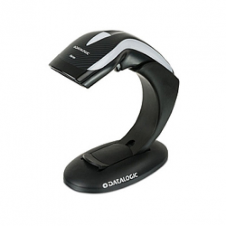 Heron HD3130 1D Scanner with Stand, Black