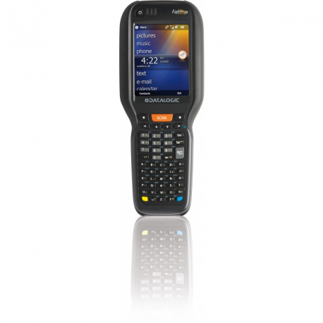 Falcon X3+ Pistol Grip, 802.11 a/b/g /n CCX v4, Bluetooth v2.1, 256 MB RAM/1GB Flash, QVGA, 52-Key Alpha Numeric, Extended Range