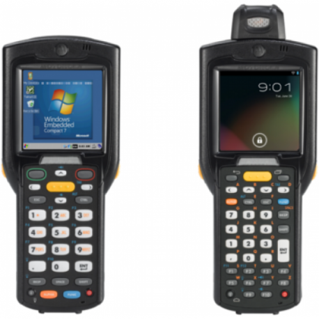 Motorola MC32 MOBILE COMPUTER (802.11 a/b/g/n, Bluetooth, Full Audio, 1GHz Processor, Rotating Head, 1D Laser SE96x, Color-touch