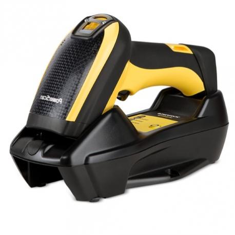 Datalogic PowerScan PBT9501, BT, 2D, AR, kit (RS232), RB, black, yellow