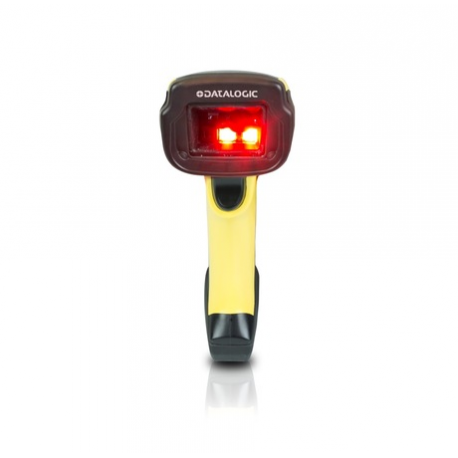 Datalogic PowerScan PD9531-HPE, 10-30 VDC, 2D, HD, LR, SR, WA, multi-IF, kit (RS232), black, yellow