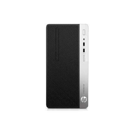 HP ProDesk 400 G6 MT - i5-9500, 8GB, 256GB NVMe SSD, DVDRW, HDMI, USB mouse, Win 10 Pro, 1 years