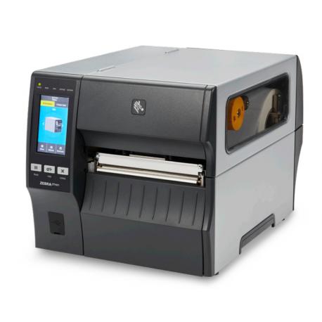Zebra ZT421, 8 dots/mm (203 dpi), peeler, rewinder, disp. (colour), RTC, EPL, ZPL, ZPLII, USB, RS232, BT, Ethernet