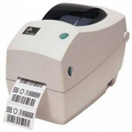 Zebra TLP 2824 Plus - Label printer - monochrome - thermal transfer - Roll (6 cm) - 203 dpi - up to 102 mm/sec - USB, serial