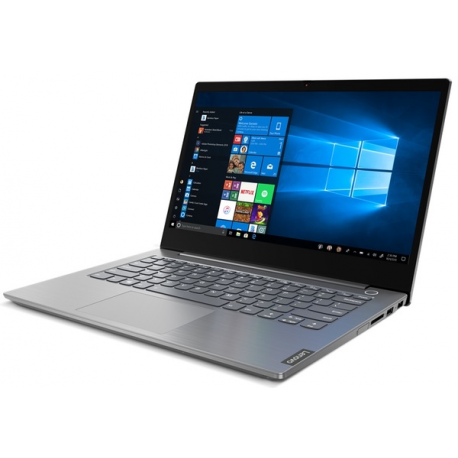 Lenovo ThinkBook 15 IIL 15.6 FHD i5-1035G4/8GB/256GB/Intel Iris Plus/WIN10 Pro/Nordic Backlit kbd/Grey/FP/1Y Warranty