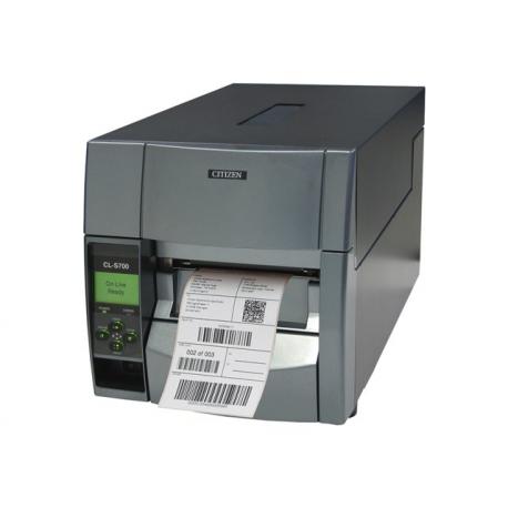 Citizen CL-S700II, 8 dots/mm (203 dpi), MS, EPL, ZPLII, Datamax, multi-IF (Ethernet)