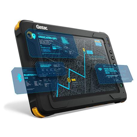 Getac EX80 LTE, BT, Wi-Fi, 4G, GPS, RFID, Win. 10 Pro, ATEX