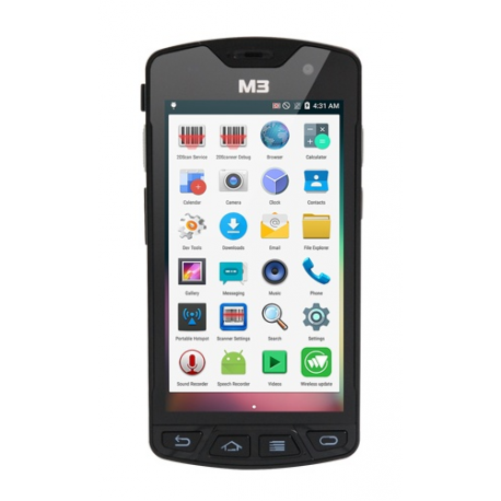M3 Mobile SM15 N, USB, BT (BLE), Wi-Fi, 4G, NFC, GPS, GMS, Android