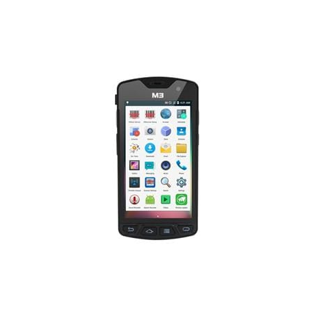 M3 Mobile SM10 LTE, 2D, BT, Wi-Fi, 4G, NFC, GPS, GMS, ext. bat., Android