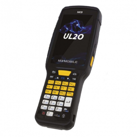 M3 Mobile UL20W, 2D, LR, SE4850, BT, Wi-Fi, NFC, num., GPS, GMS, Android