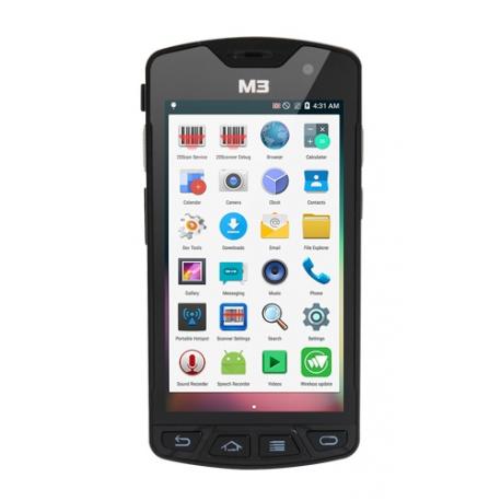 M3 Mobile SM15 X, 2D, BT (BLE), Wi-Fi, 4G, NFC, GPS, GMS, Android