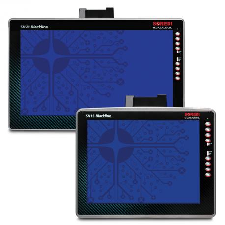 Datalogic SH15 Blackline, 110/230 VAC, USB, RS-232, BT, Ethernet, Wi-Fi