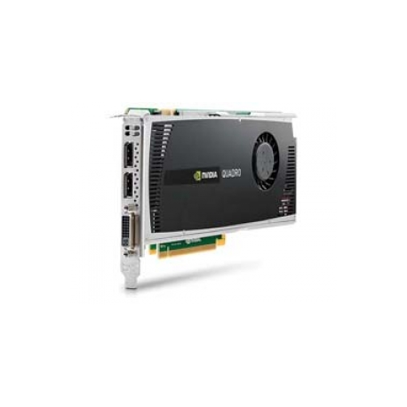 NVIDIA Quadro 4000 - Graphics card - Quadro 4000 - 2 GB GDDR5 - PCIe 2 0  x16 - DVI, 2 x DisplayPort - for Workstation z210 (CMT), z400, z800
