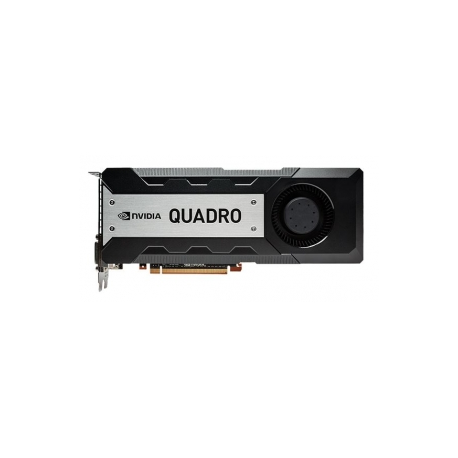 NVIDIA Quadro K6000 - Graphics card - Quadro K6000 - 12 GB GDDR5 - PCIe 3 0  x16 - 2 x DVI, 2 x DisplayPort - for Workstation Z620, Z820