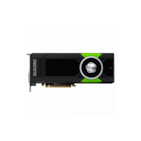 NVIDIA Quadro P5000 - Graphics card - Quadro P5000 - 16 GB GDDR5 - PCIe 3 0  x16 - DVI, 4 x DisplayPort