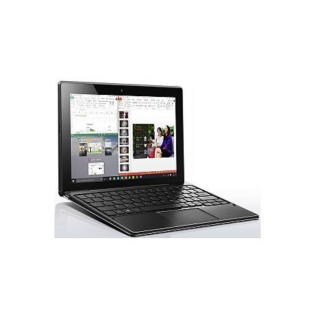 Lenovo Miix 310-10ICR 80SG - Tablet - with keyboard dock - Atom x5 Z8350 /  1 44 GHz - Windows 10 Home - 2 GB RAM - 32 GB eMMC - 10 1