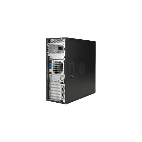 HP Workstation Z440 - MT - 4U - 1 x Xeon E5-1620V3 / 3 5 GHz - RAM 16 GB -  SSD 256 GB - DVD SuperMulti - no graphics - GigE - Win 7 Pro 64-bit