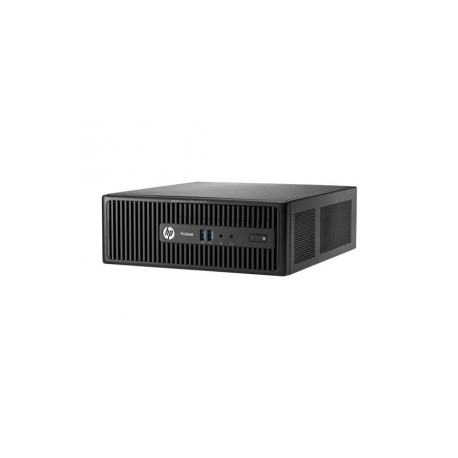 HP ProDesk 400 G2 5 - SFF - 1 x Core i3 4170 / 3 7 GHz - RAM 4 GB - HDD 500  GB - DVD SuperMulti - HD Graphics 4400 - GigE - Win 10 Pro 64-bit / Win 7
