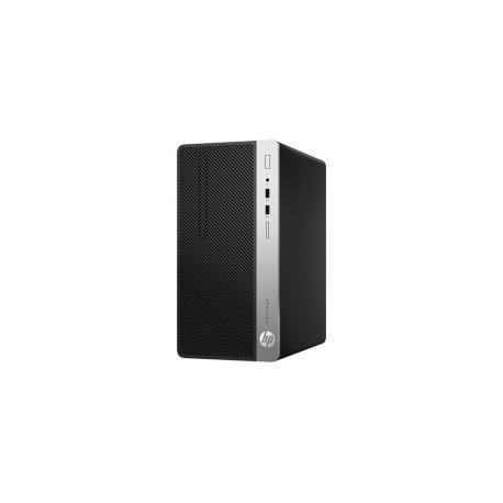 HP ProDesk 400 G4 - Micro tower - 1 x Core i7 6700 / 3 4 GHz - RAM 8 GB -  SSD 256 GB - DVD-Writer - HD Graphics 530 - GigE - Win 7 Pro 64-bit