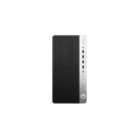 HP ProDesk 600 G3 - Micro tower - 1 x Core i5 7500 / 3 4 GHz - RAM 8 GB -  SSD 256 GB - DVD-Writer - HD Graphics 630 - GigE - Win 10 Pro 64-bit -