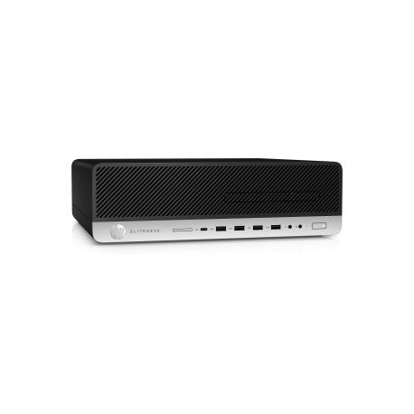 HP EliteDesk 800 G3 - SFF - 1 x Core i7 7700 / 3 6 GHz - RAM 8 GB - SSD 256  GB - NVM Express (NVMe), triple-level cell (TLC) - HD Graphics 630 - GigE