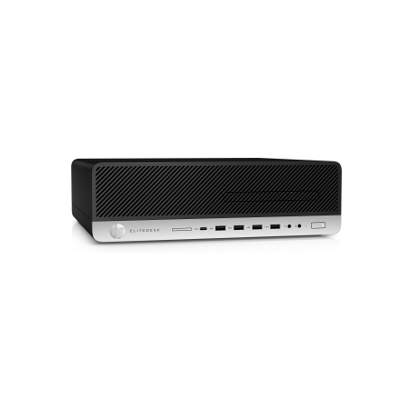 HP EliteDesk 800 G3 - SFF - 1 x Core i5 7500 / 3 4 GHz - RAM 8 GB - SSD 256  GB - NVM Express (NVMe), triple-level cell (TLC) - HD Graphics 630 - GigE