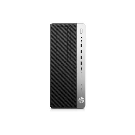 HP EliteDesk 800 G3 - Tower - 1 x Core i7 7700 / 3 6 GHz - RAM 16 GB - HDD  1 TB - DVD-Writer - GF GTX 1080 / HD Graphics 630 - GigE - Win 10 Pro