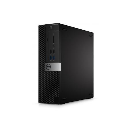 Dell OptiPlex 3040 - SFF - 1 x Core i3 6100 / 3 7 GHz - RAM 4 GB - HDD 500  GB - DVD-Writer - HD Graphics 530 - GigE - Win 10 Pro 64-bit - monitor: