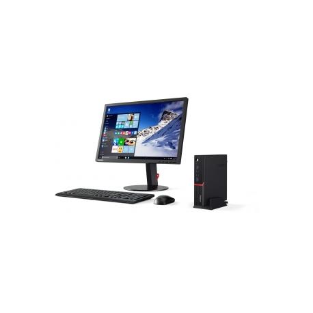 Lenovo ThinkCentre M700 10HY - Tiny desktop - 1 x Core i5 6400T / 2 2 GHz -  RAM 4 GB - HDD 500 GB - HD Graphics 530 - GigE - WLAN: Bluetooth 4 0,