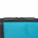 "Targus Pulse TSS94602EU 13.3 "", Black/Atoll Blue, Poly/PU, Sleeve"