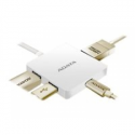 A-data ADATA USB-C HUB TO USB-C, 2x USB-A 3.1, HDMI