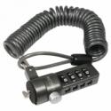 Logilink - Laptop anti-theft lock, Black