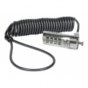Targus DEFCON Coiled Laptop Cable Lock