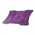 Natec laptop cooling pad MACAW Purple (12,1''-15,6'') silent fan with LED backli