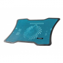 Natec laptop cooling pad MACAW Blue (12,1''-15,6'') silent fan with LED backligh