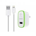 Belkin CHARGER USB INCL. CALBE 1.2M (F/ IPAD AIR 2400MAH 12W WHITE)